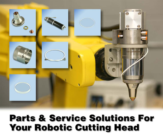 Parts & Service Solutions For Your Robotic Cutting Head